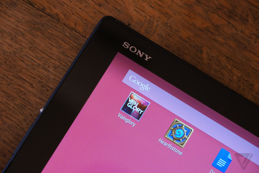 Sony Xperia Z4 Tablet review: the new netbook? | The Verge