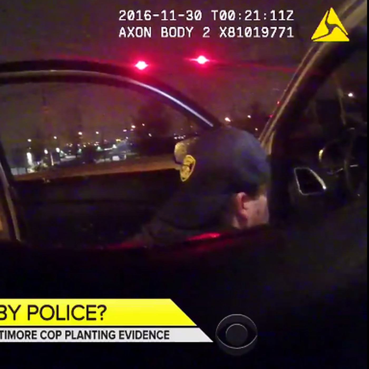 Baltimore police officers accidentally filmed themselves