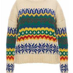 "Pixie Market 'Heritage' sweater, <a href=""http://www.pixiemarket.com/ivory-heritage-sweater.html"">$52</a>"