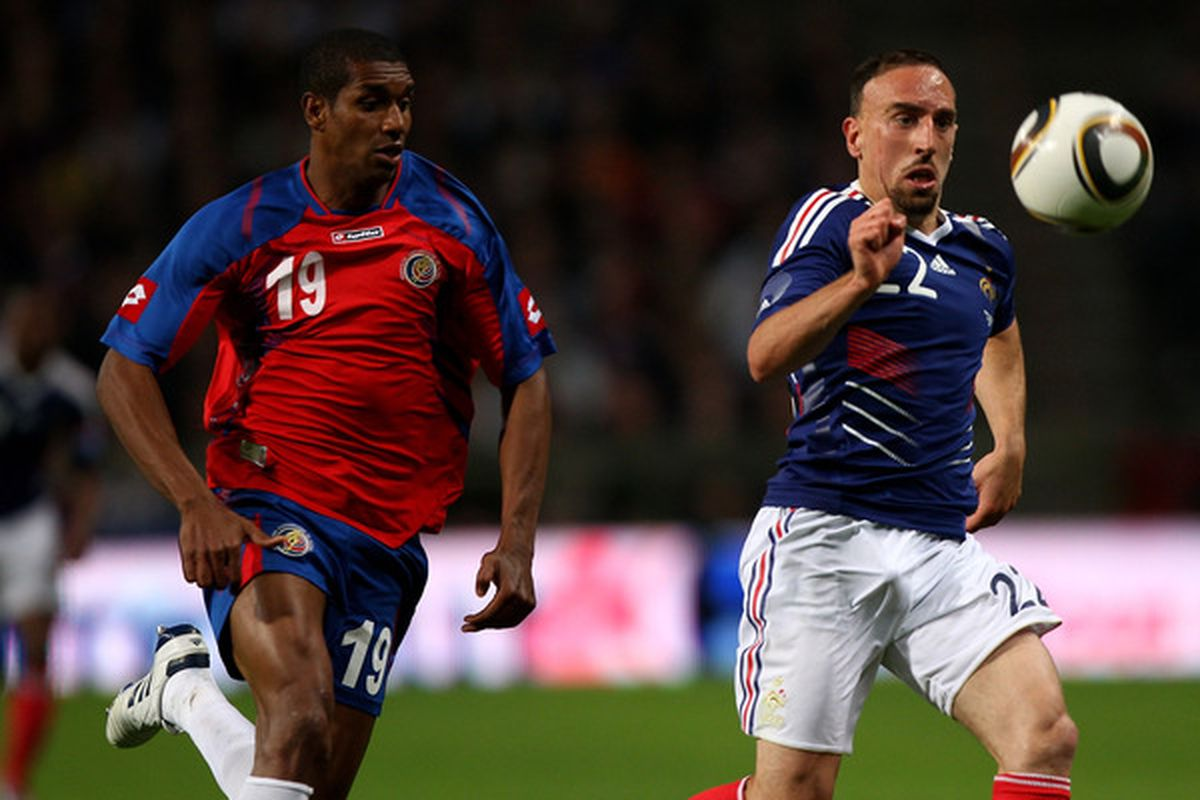 One of these players was voted best player in Europe. The other is Franck Ribery.