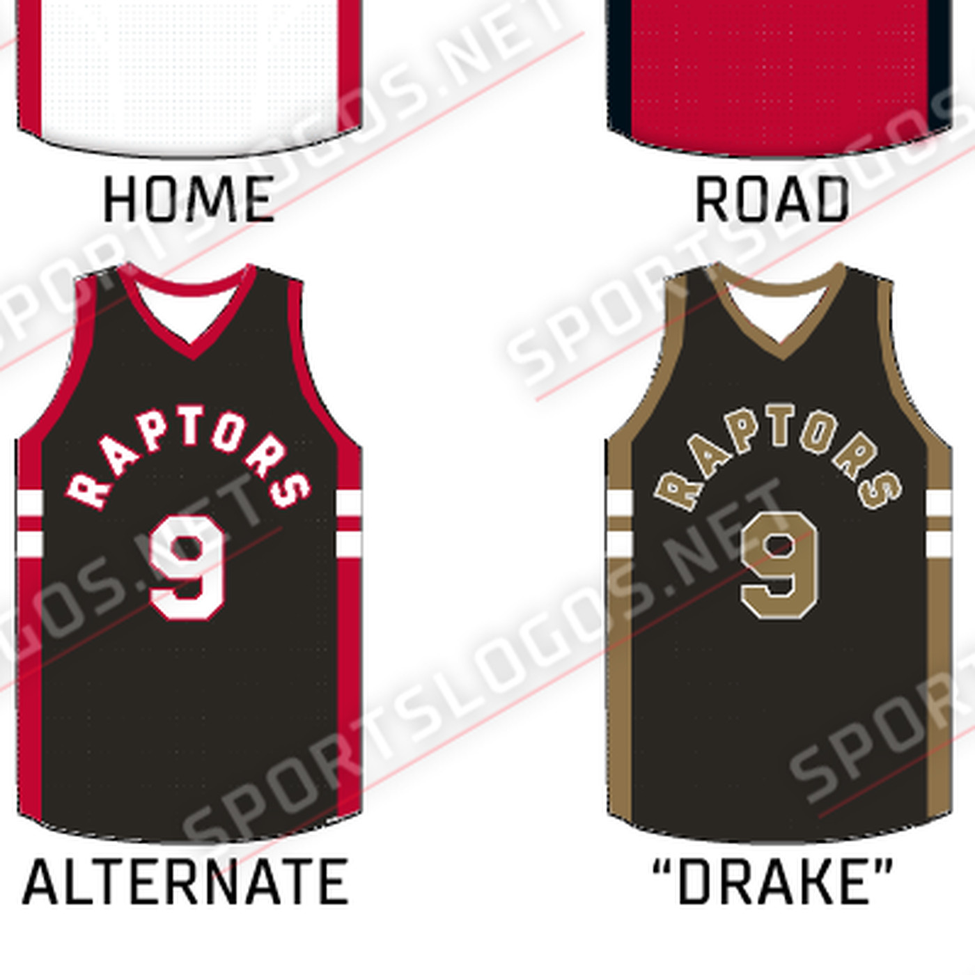 6dc71ae550f Toronto Raptors leak new Drake-inspired alternate jerseys - SBNation.com