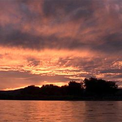 """The colorful sunset shots in the 1978 Terence Malick film """"Days of Heaven"""" were a major inspiration."""