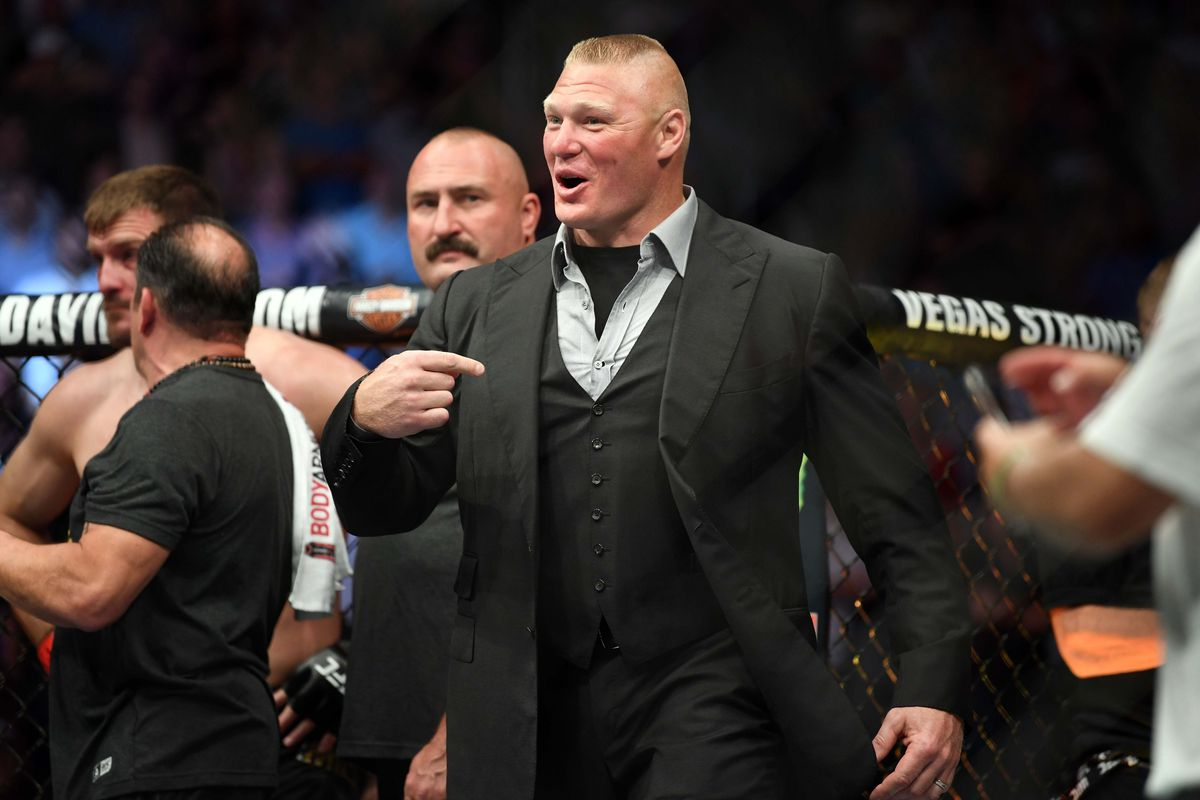 Midnight Mania! Watch Brock Lesnar Back in Training