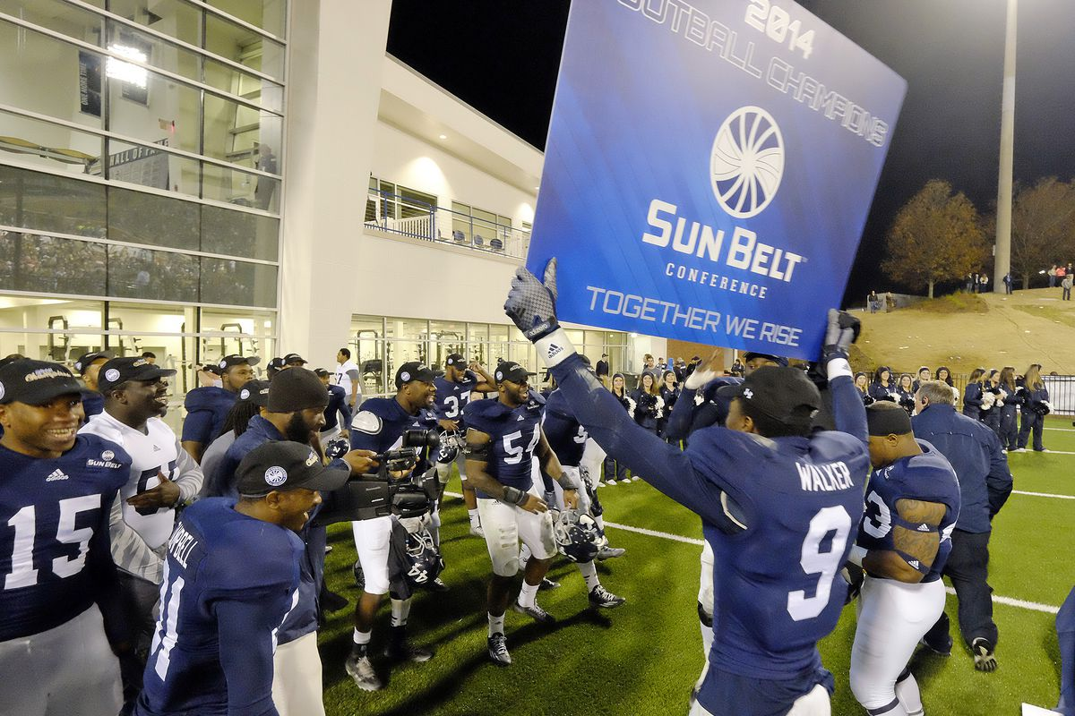 Whatever the Big 12 does with ten, the Sun Belt is up to eleven, and on the rise.