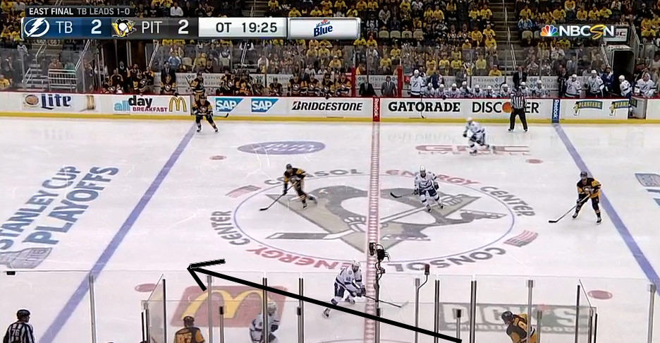 Sidney Crosby won last night's Game 2 just 40 seconds into