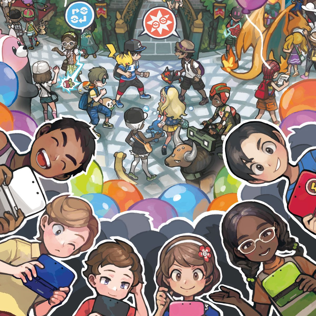 Pokémon Sun and Moon Festival Plaza