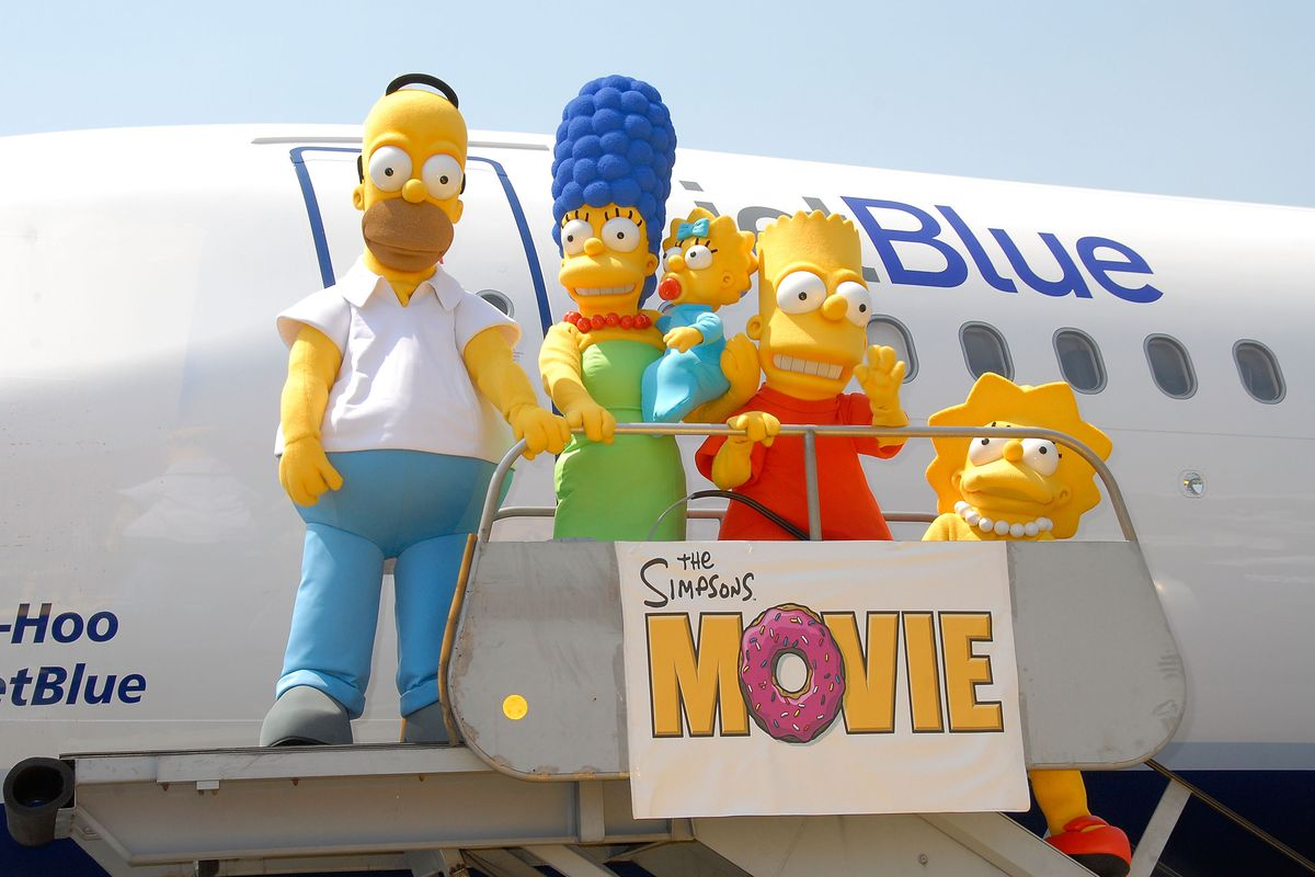 """The Simpsons"" JETBLUE Event"