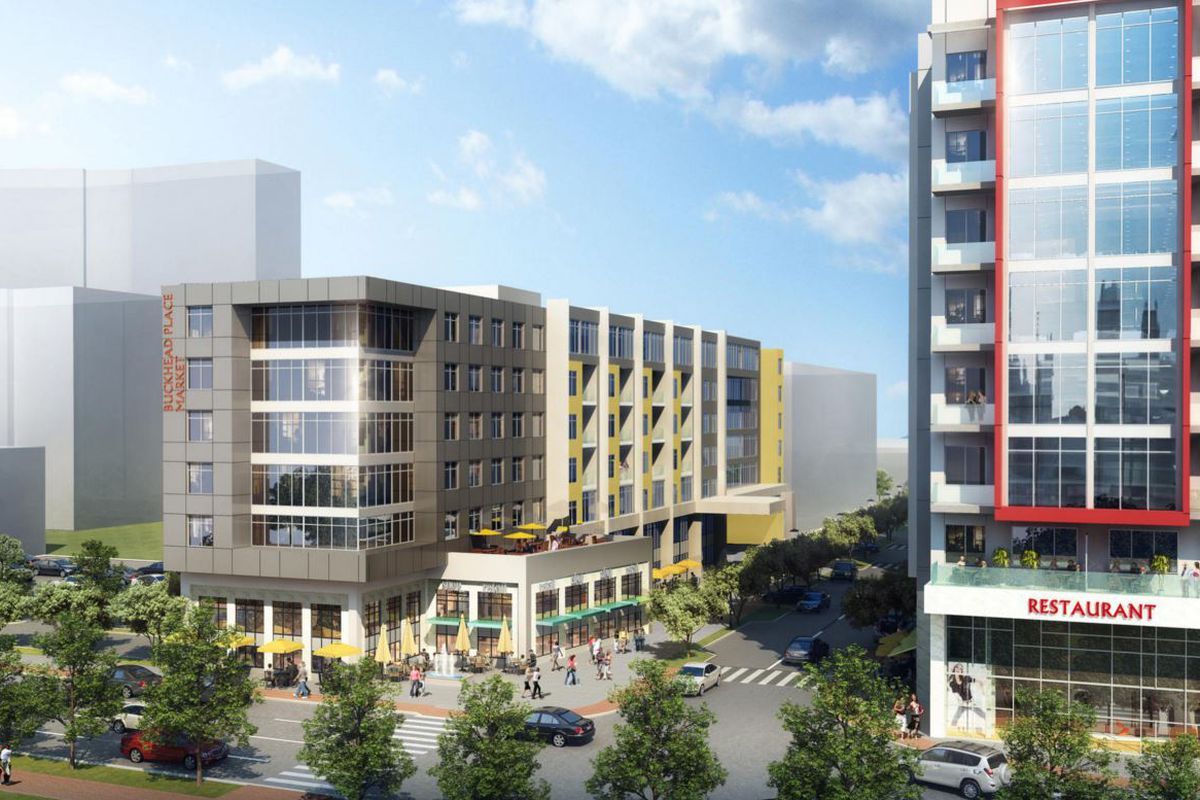 Coro Realty plans to bring contemporary mid-rise buildings to the Buckhead Place site.