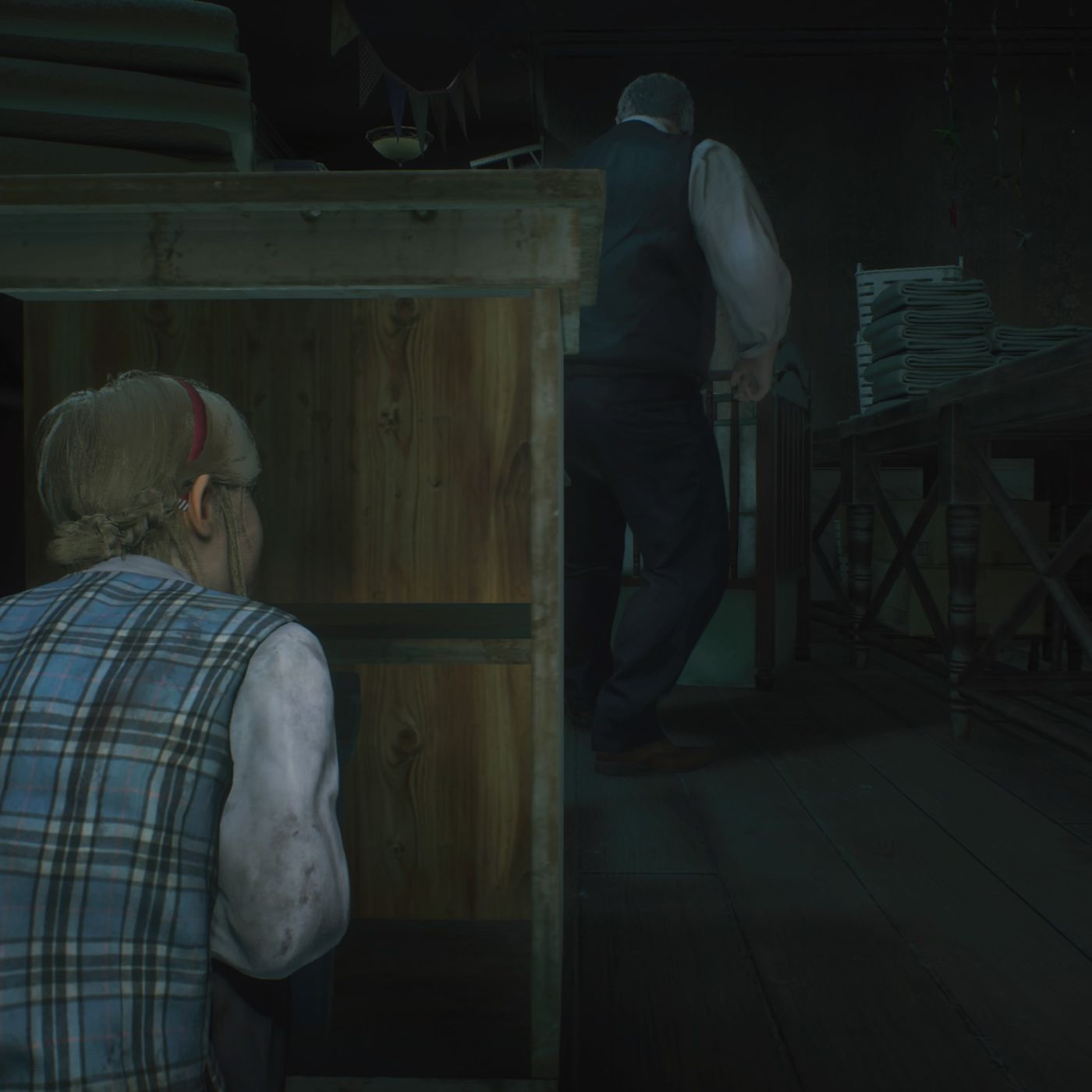 Resident Evil 2 Claire Walkthrough Sherry In The Orphanage Polygon