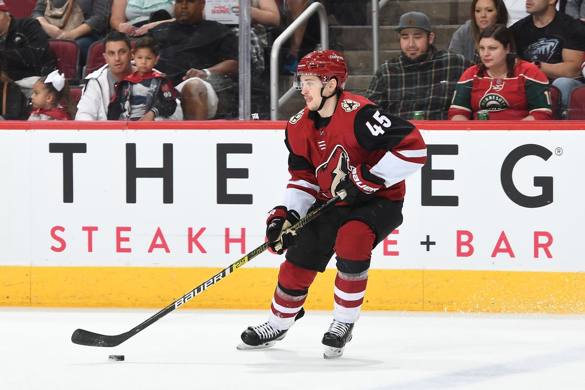 Former Coyote Josh Archibald signs with Edmonton Oilers