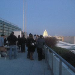 The view from the Newseum balcony, just outside the conference room.