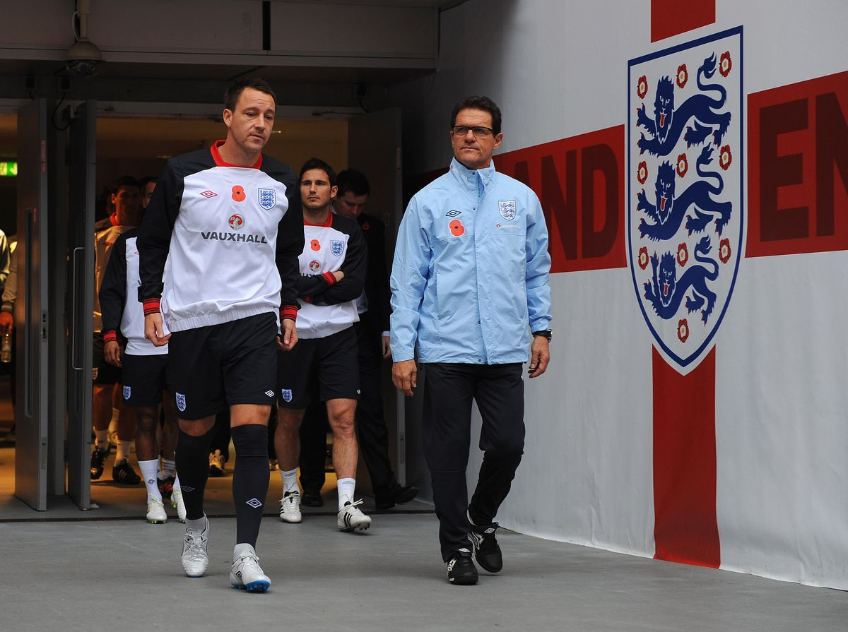 England Training And Press Conference