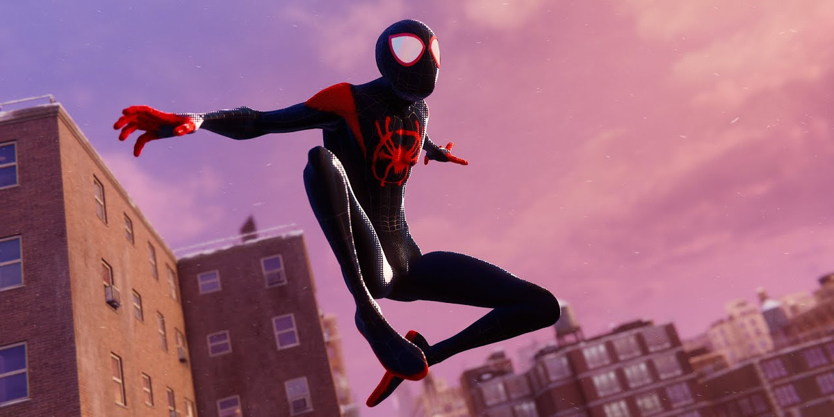 Into the Spider-Verse suit makes Spider-Man: Miles Morales feel like the movie