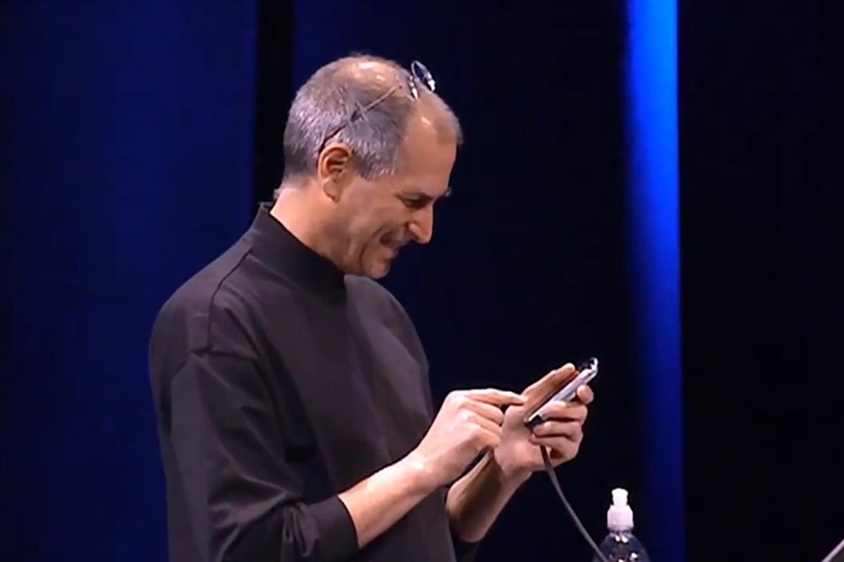 Jobs 2007 keynote screenshot