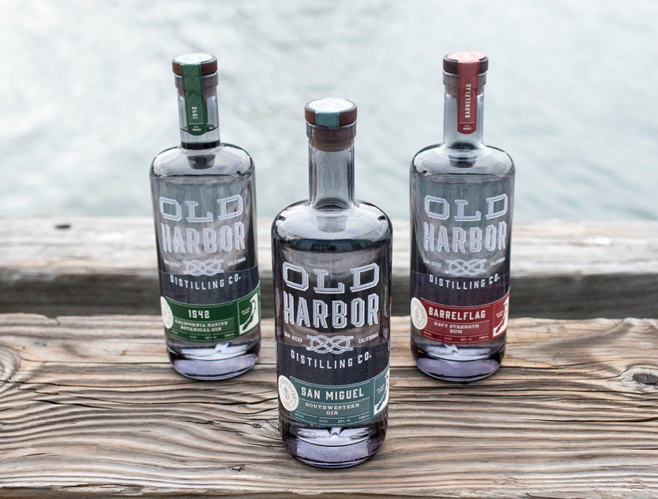 Spirits from Old Harbor Distilling Co.