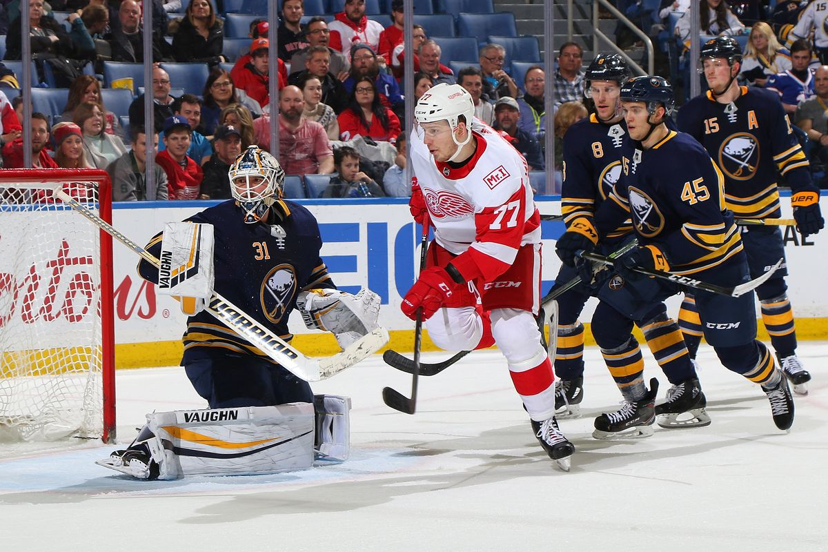 Detroit Red Wings 25 Under 25: Evgeny Svechnikov Drops 4 Positions to #12