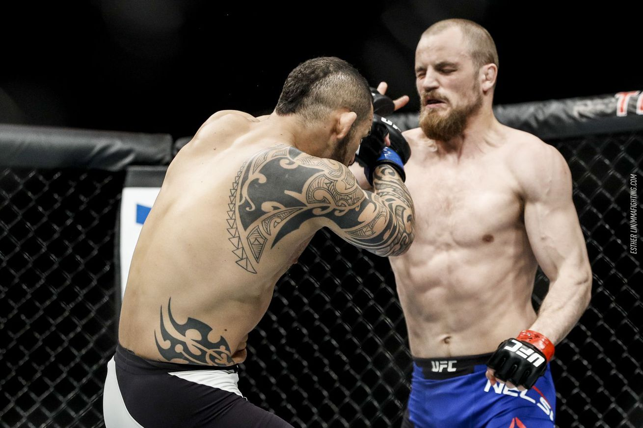 community news, Gunnar Nelson's team displeased that UFC did not overturn loss to Santiago Ponzinibbio due to eye pokes