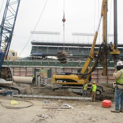 Another view in left field along Waveland