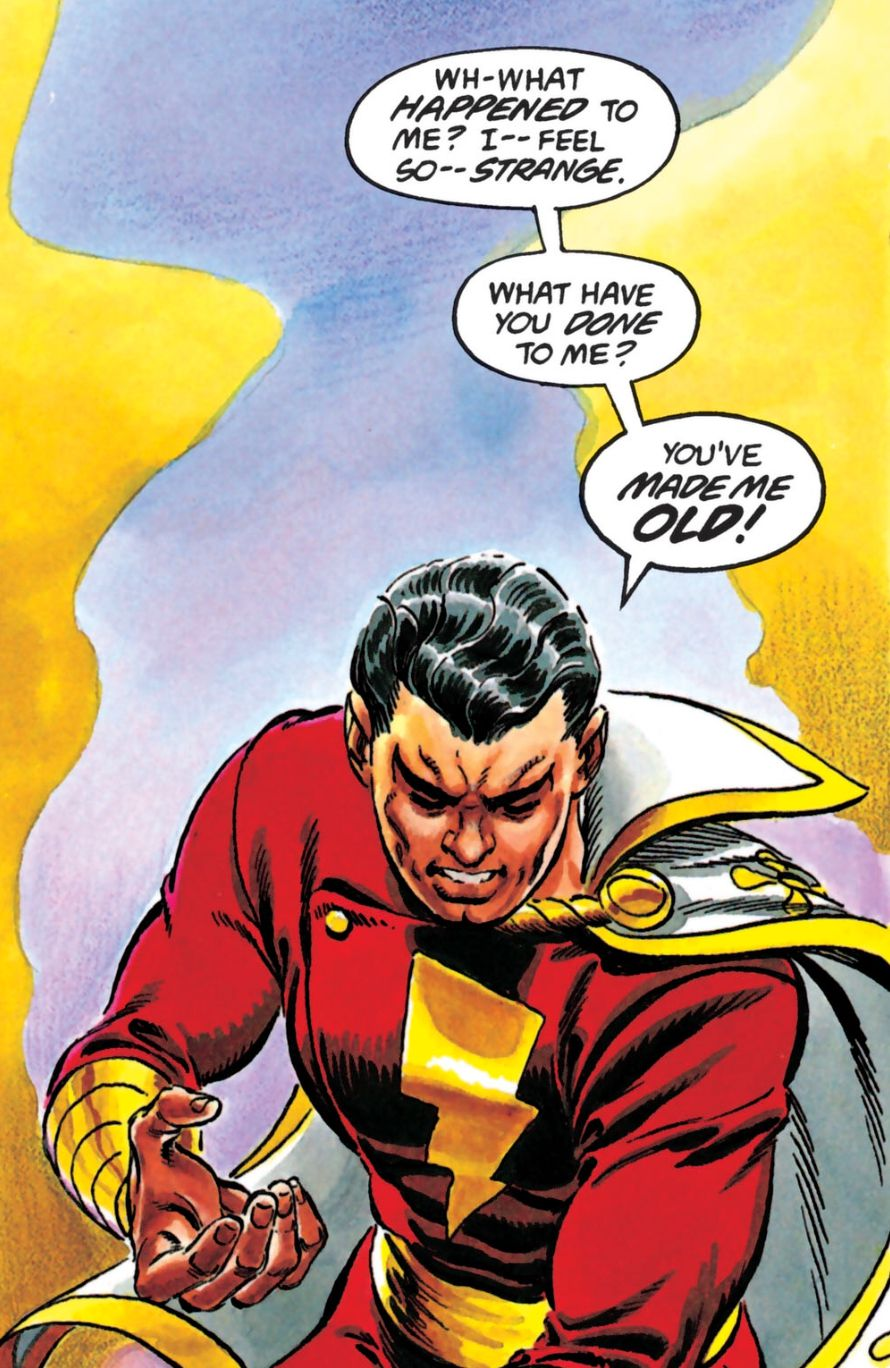 From the power of Shazam !, DC Comics (1994).