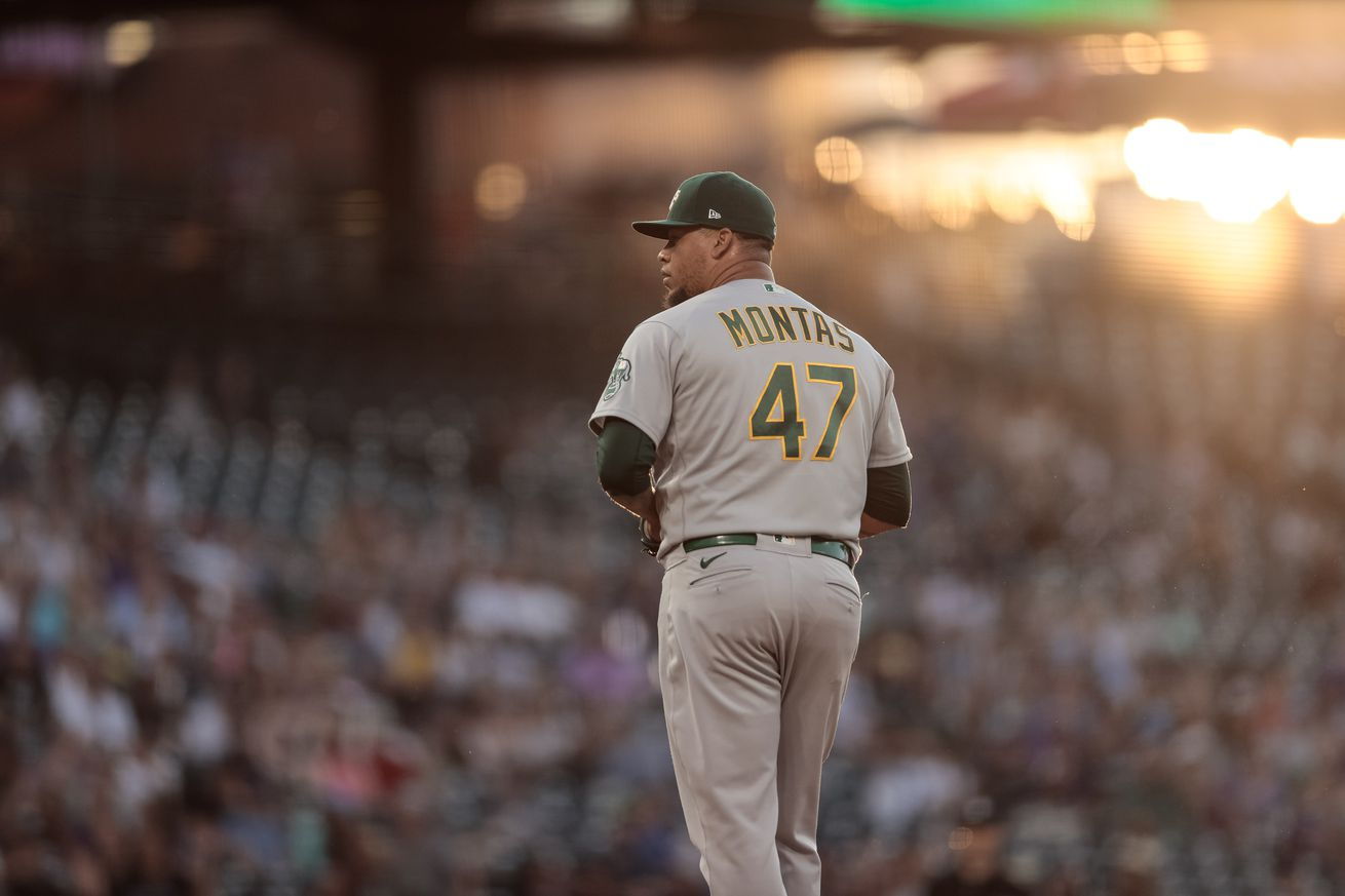 MLB: Oakland Athletics at Colorado Rockies