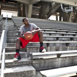 John Wall s Reebok commercial photo shoot - Bullets Forever b39fd65f3