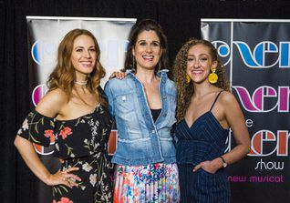 """Teal Wicks (from left) plays Lady, Stephanie J. Block (center) plays Star and Micaela Diamond (right) plays Babe in """"The Cher Show.""""   Tyler LaRiviere/Sun-Times"""