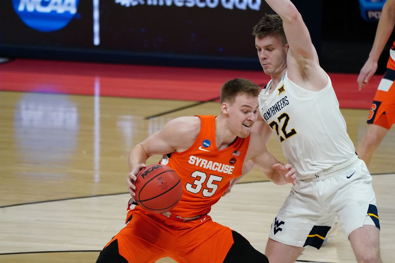 NCAA Basketball: NCAA Tournament-Syracuse at West Virginia