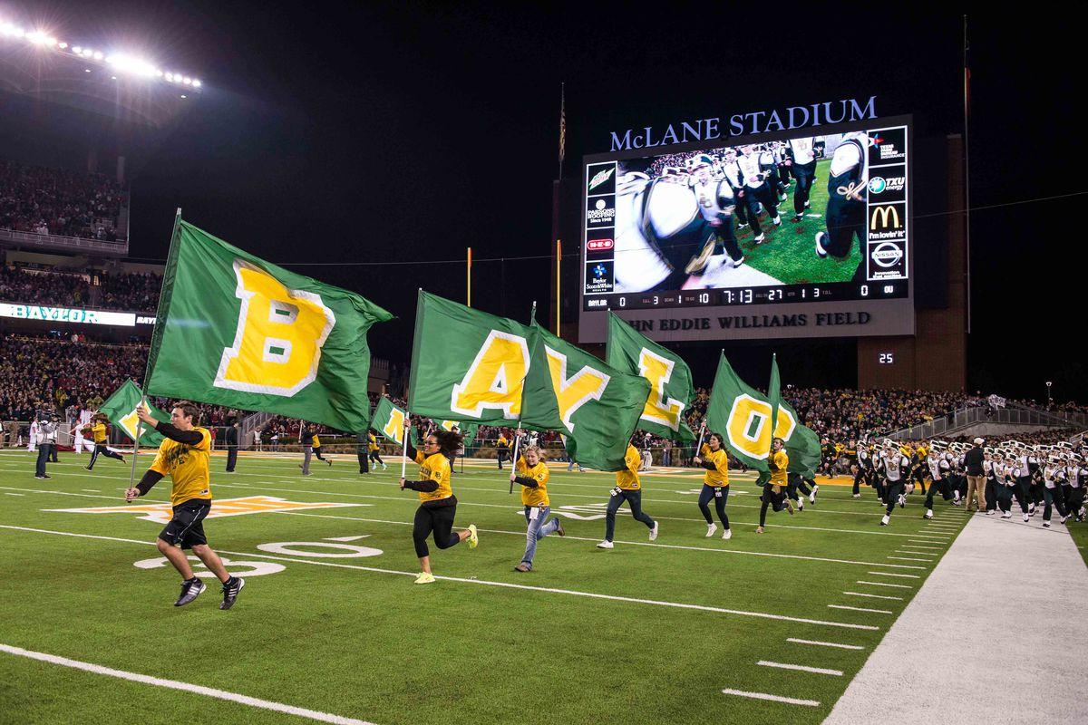 NCAA Football: Oklahoma at Baylor