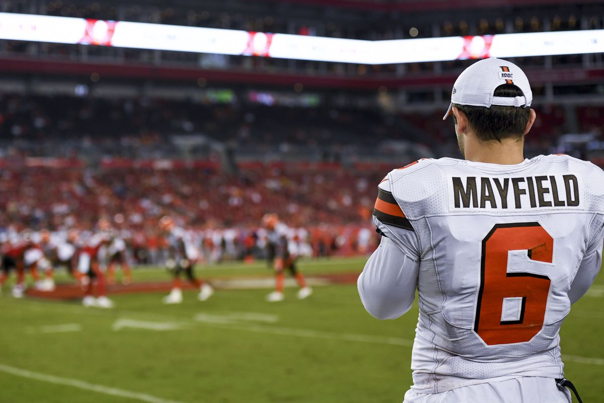 Cleveland Browns QB Baker Mayfield