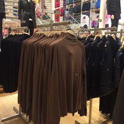 Men's merino sweater, $70