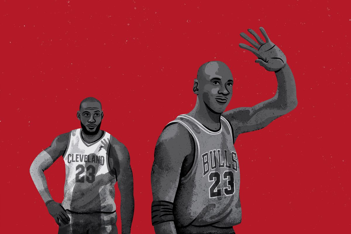47f37ec8adf How LeBron Can Finish His Fairy Tale Better Than MJ - The Ringer