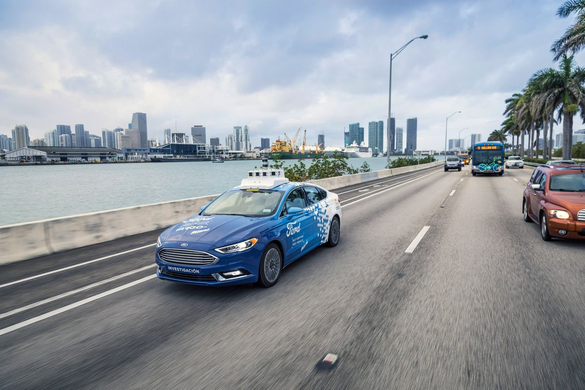 Ford will test self-driving auto service on Miami streets