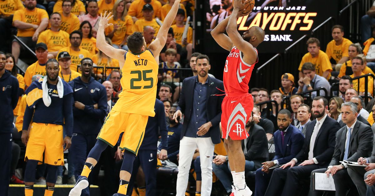 Game thread: Jazz vs. Rockets - Game 5 - The Dream Shake
