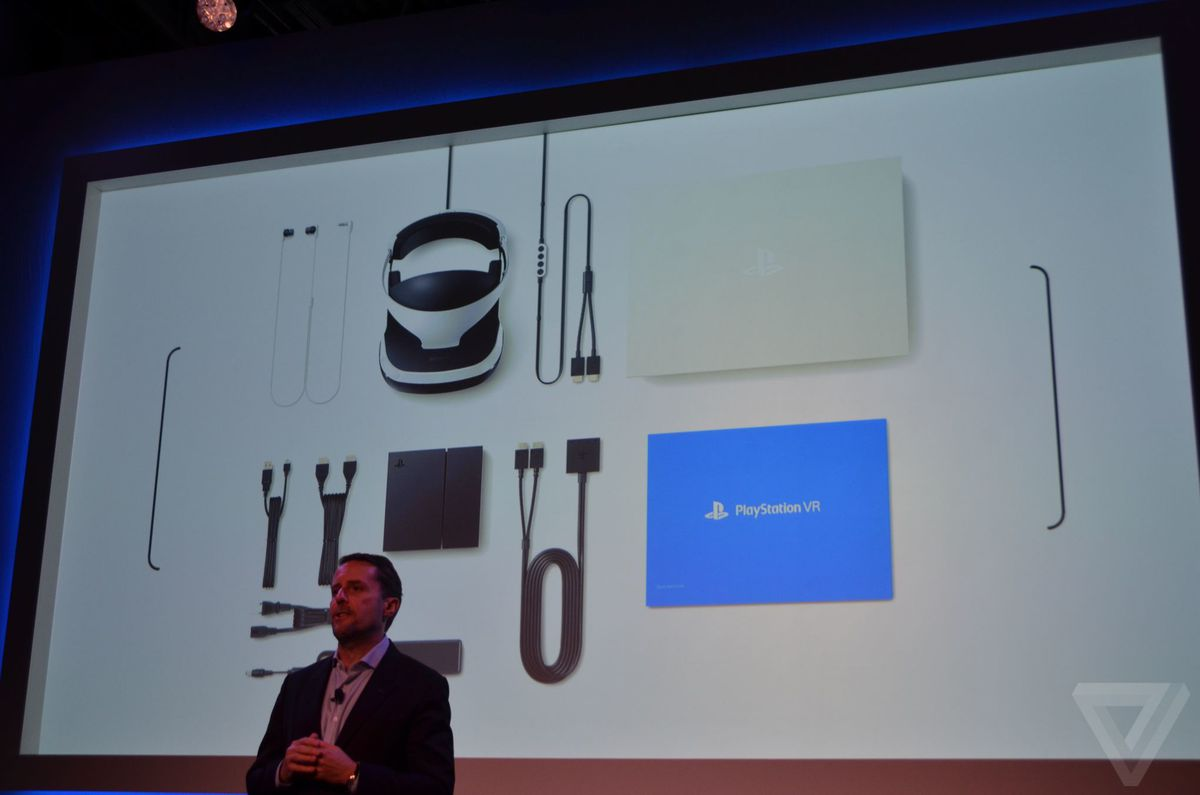 First Look At Sonys New Playstation Vr Headset The Verge Psn Usd 50 Company Expects To Have Games Available For Before End Of Year