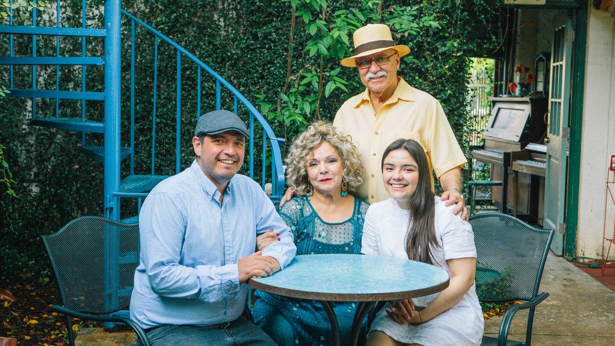 Members of the Tamale House family: Juan Mariano Valera, Diana Valera, Juan Valera-Lema, and Colombina Valera