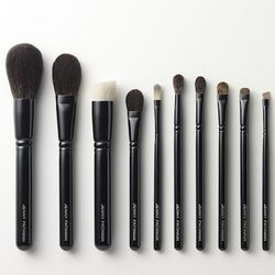 """Local makeup guru Jenny Patinkin runs Dollface Beauty School, where she teaches clients to achieve """"lazy perfection"""" in the bathroom mirror each morning. Her line of Jenny Patinkin makeup brushes are handmade by Japanese artisans with incredibly soft natu"""