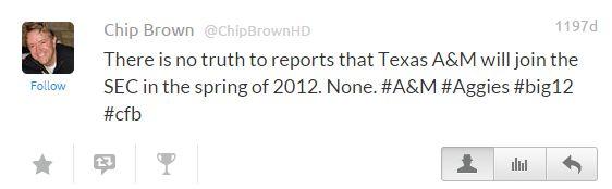 Chip Tweets