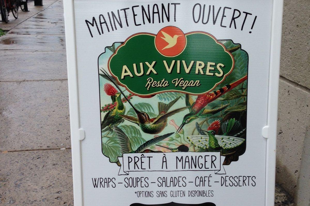 More Aux Vivres to love