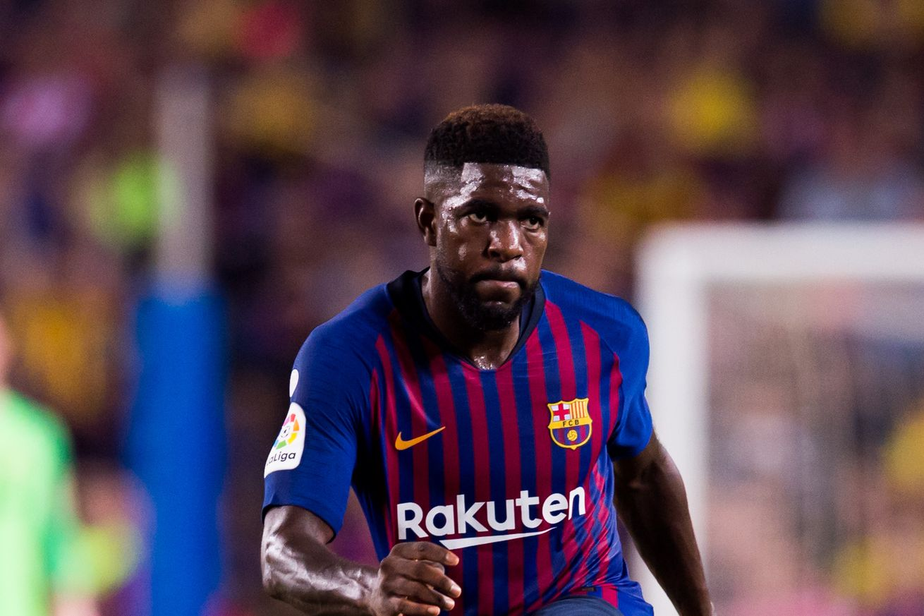 ee705b16e25 Barcelona increasingly nervous over Umtiti injury - report