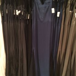 Blue gown, size 8, $300 (was $1,595)