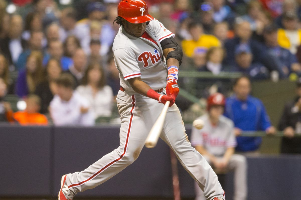 Maikel Franco homered twice for the Phils