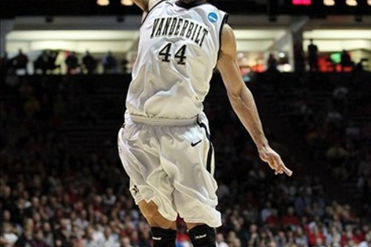 Vanderbilt shook off three consecutive early exits in past tournaments and polished off Harvard.