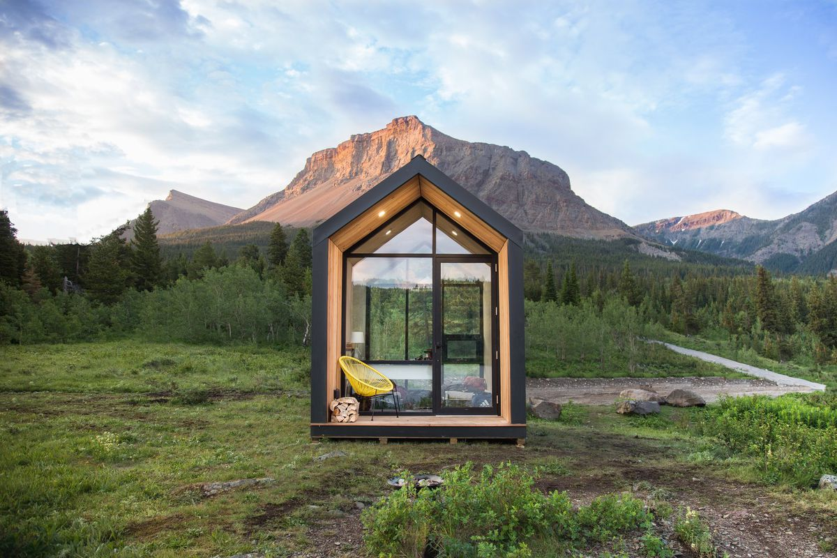 Prefab Home Mono Is A Tiny Cabin For Anywhere You Like
