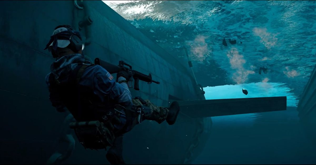 Ship-to-ship battle looks amazing in Call of Duty: Cold War's multiplayer trailer