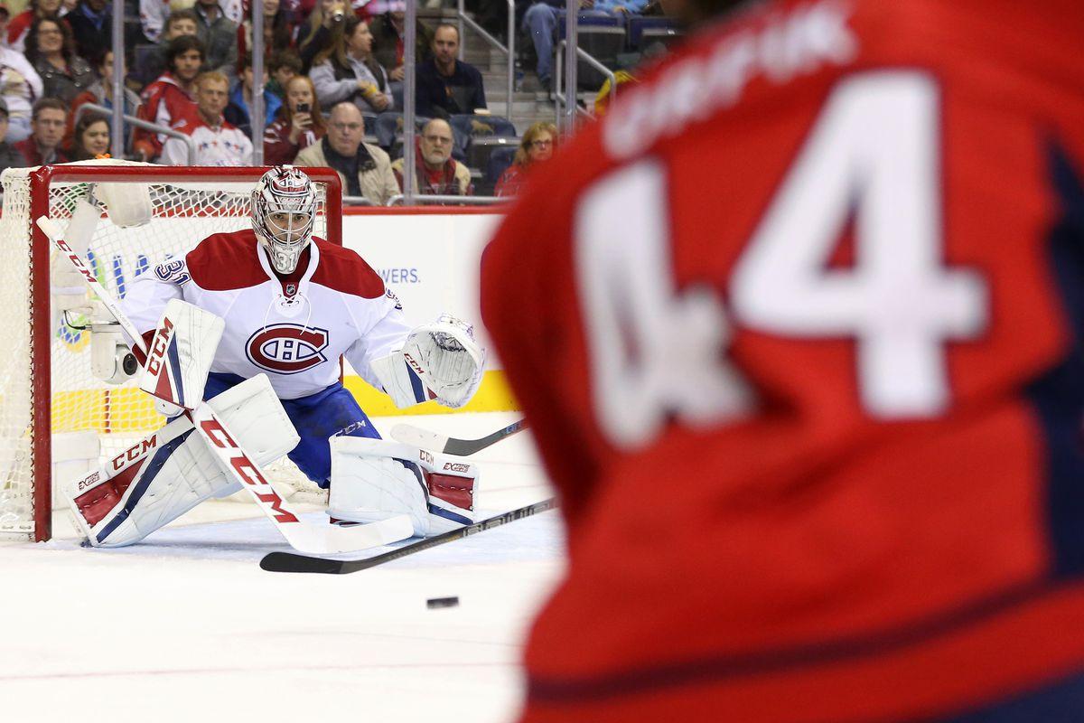 NHL: Montreal Canadiens at Washington Capitals