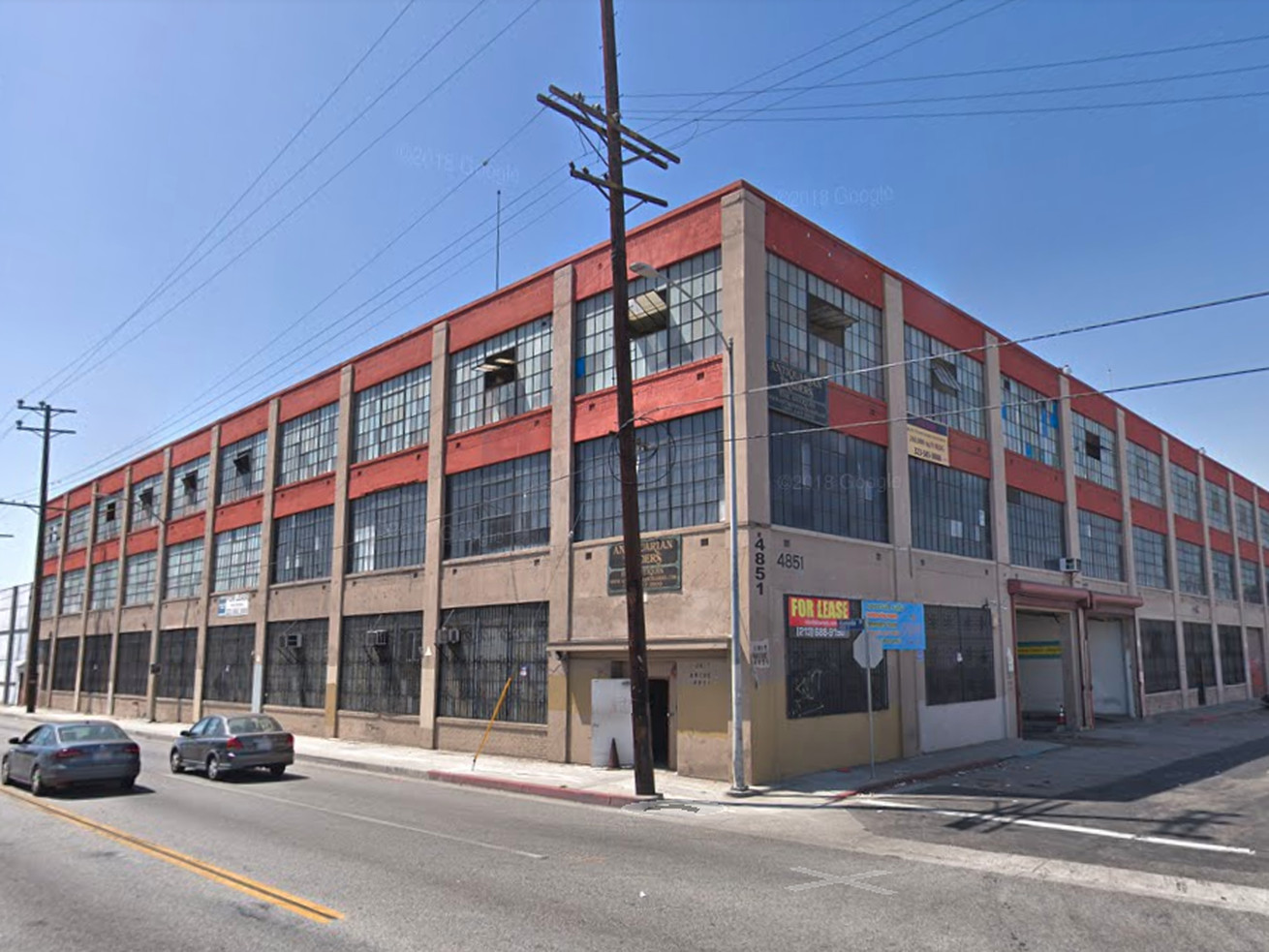 The warehouse at 4851 South Alameda Street that could be converted.