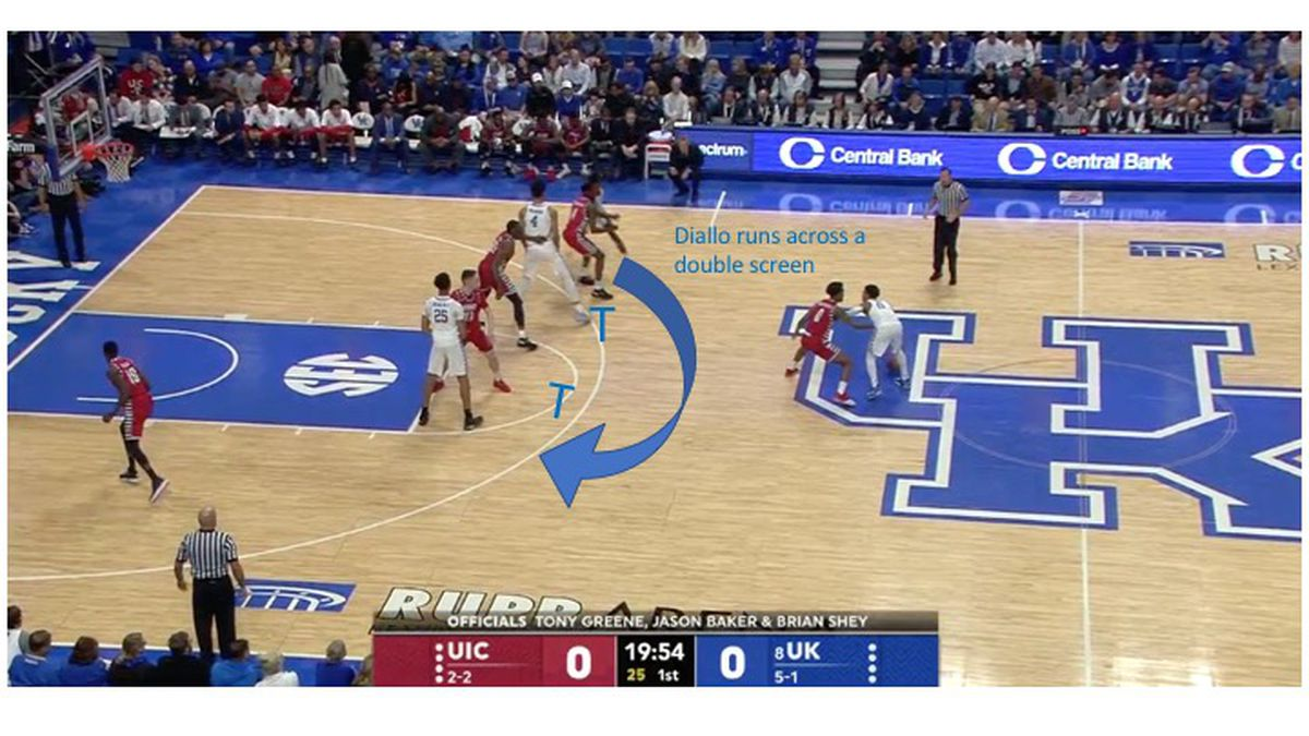 Kentucky Basketball Freeze Frame: UK\'s Lob Play - A Sea Of Blue