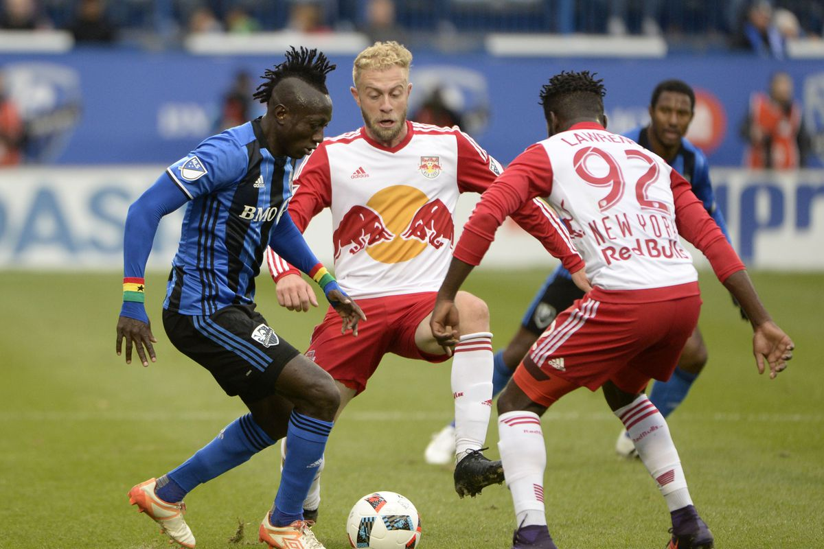 MLS: Conference Semifinals-New York Red Bulls at Montreal Impact