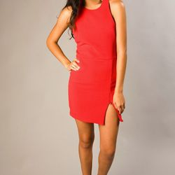 "<b>Bec & Bridge</b> Vida Zip mini dress, <a href=""http://www.sofialivelovely.com/shop/vida-zip-mini-dress/"">$172</a> at Sofia"