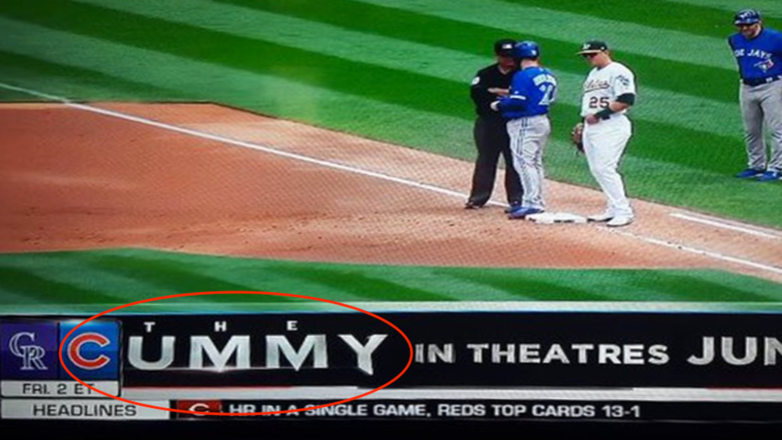 MLB Network graphic inadvertently creates a NSFW title for ...